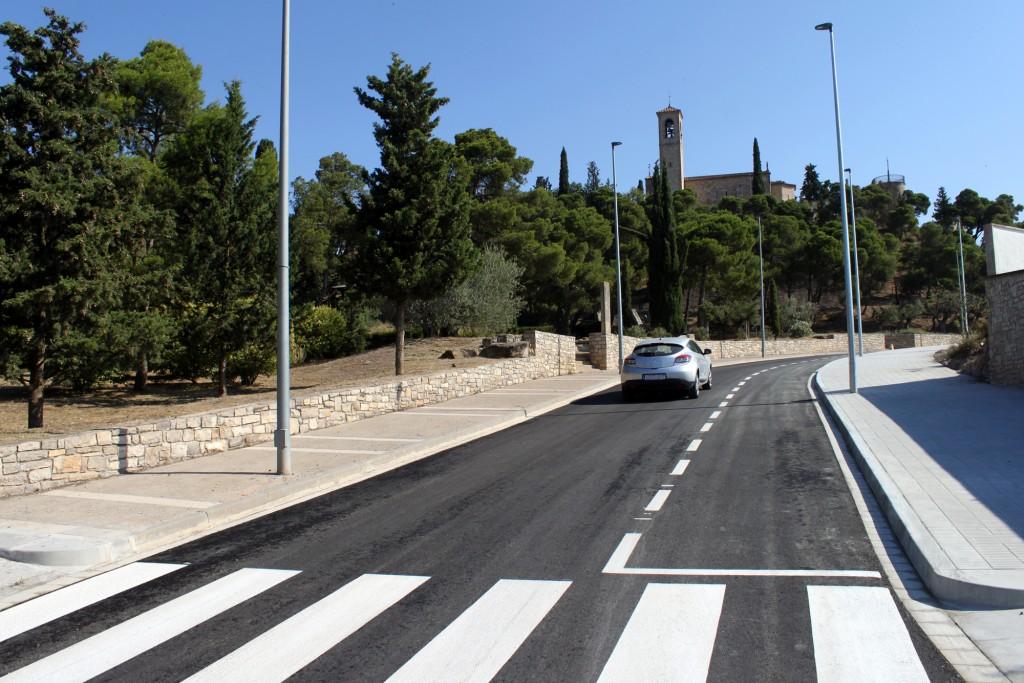 El carrer de La Pau de Tàrrega, reobert aquesta setmana al trànsit