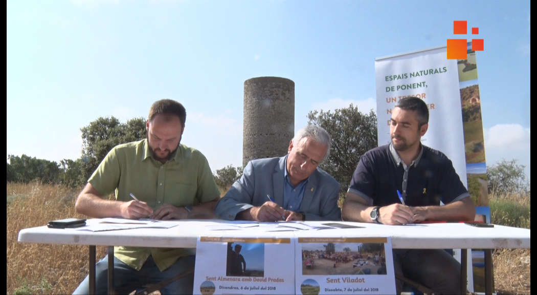 El bròquil regat amb aigües del Canal d'Urgell una de les novetats de la Fira De Prop de Preixana