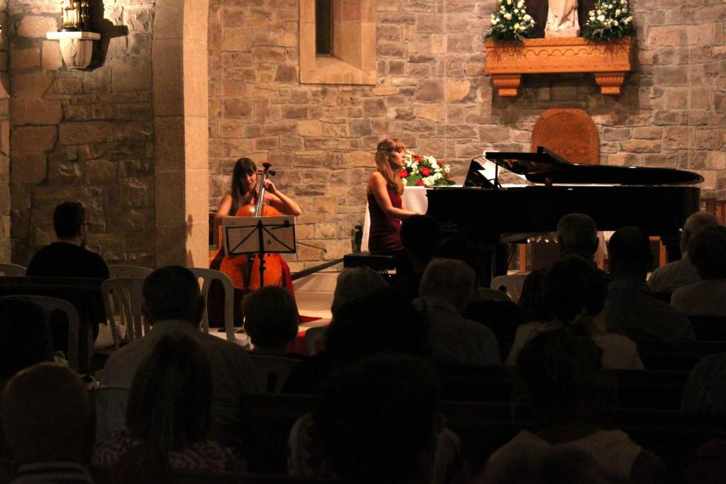 Concert del Duo DeLIS a Tàrrega