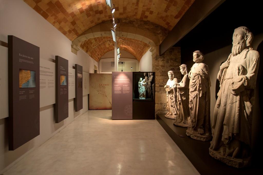 IMATGE D'ARXIU · Espai del Museu Comarcal de l'Urgell dedicat al passat medieval jueu de la vila