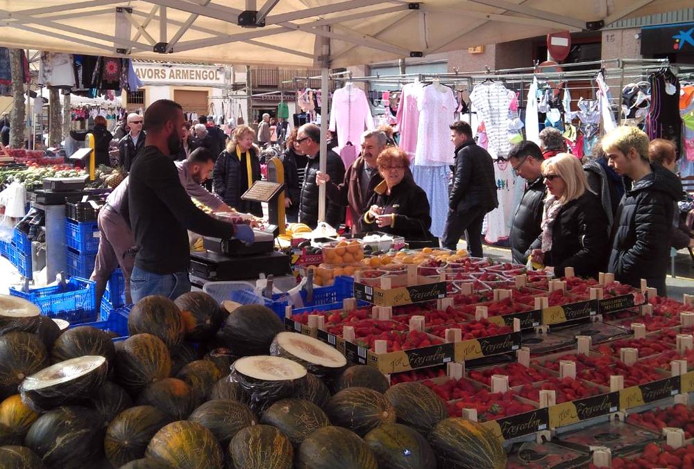 Tàrrega celebrarà mercat setmanal el dilluns 10 de setembre, dia festiu local
