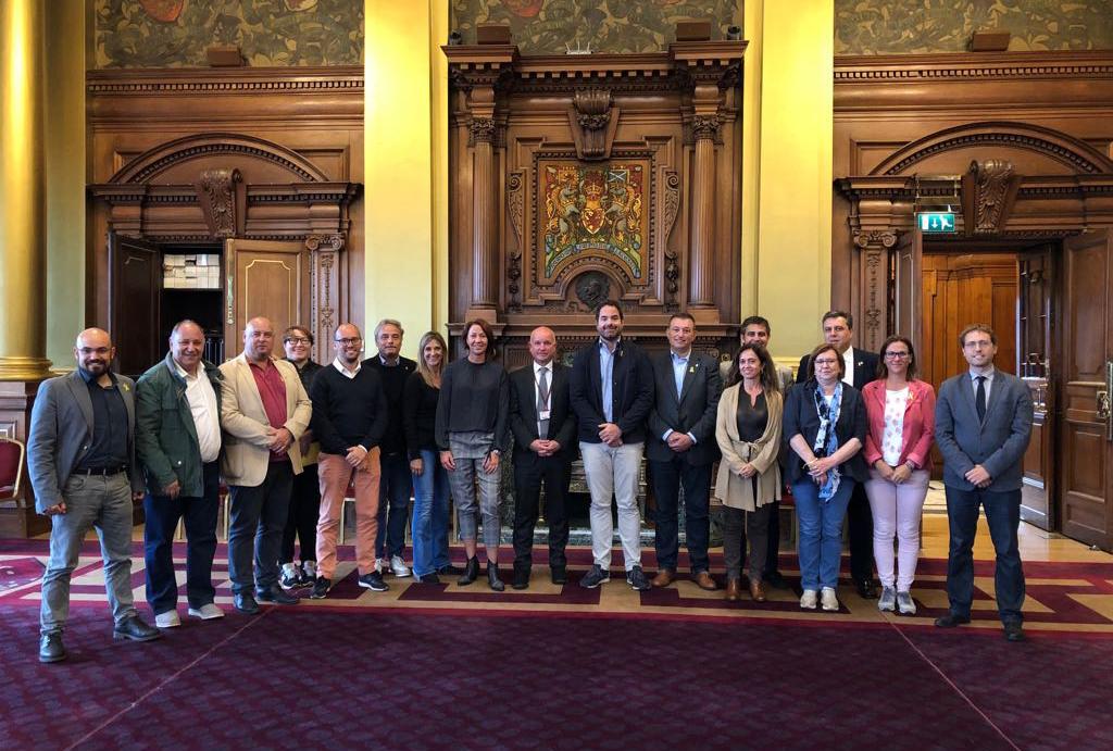 L'alcaldessa de Tàrrega forma part de la delegació de l'Associació Catalana de Municipis que visita Escòcia per conèixer la gestió d'esdeveniments culturals