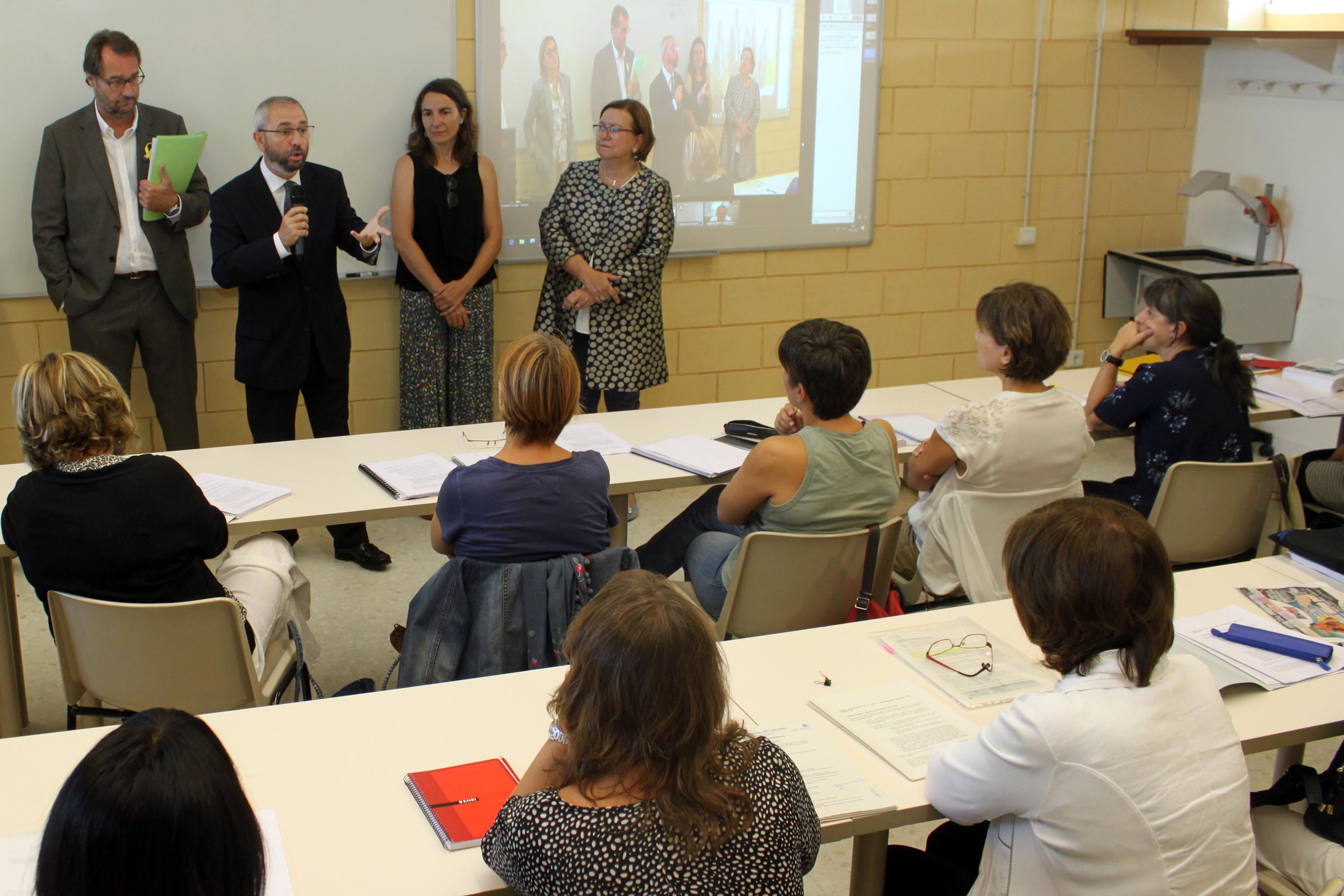 Tàrrega acull la primera activitat docent com a subseu del Centre de Formació Contínua de la UdL
