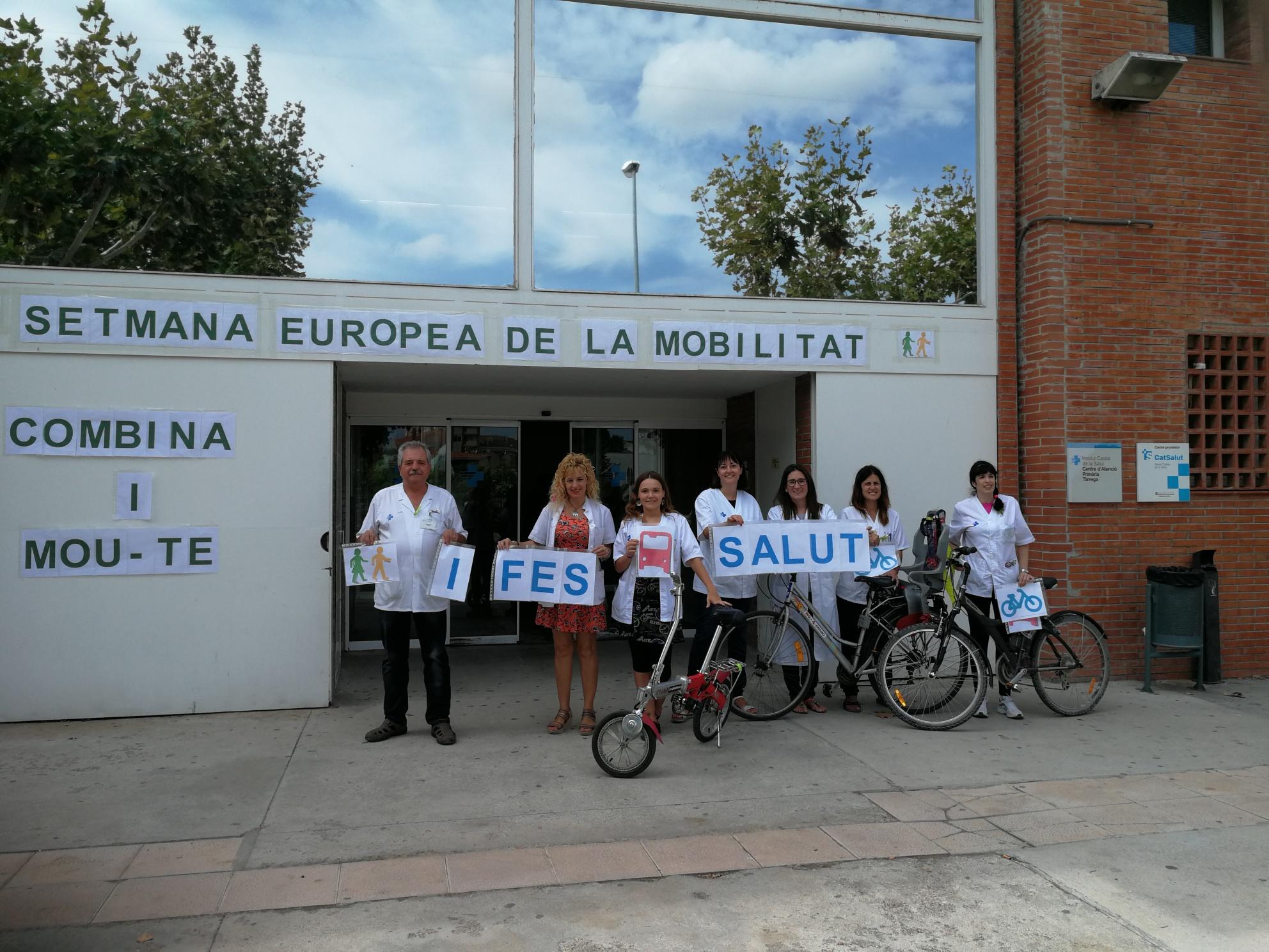 El CAP de Tàrrega participa en la Setmana Europea de la Mobilitat Sostenible i Segura