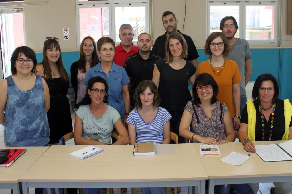 Foto de grup dels participants al curs