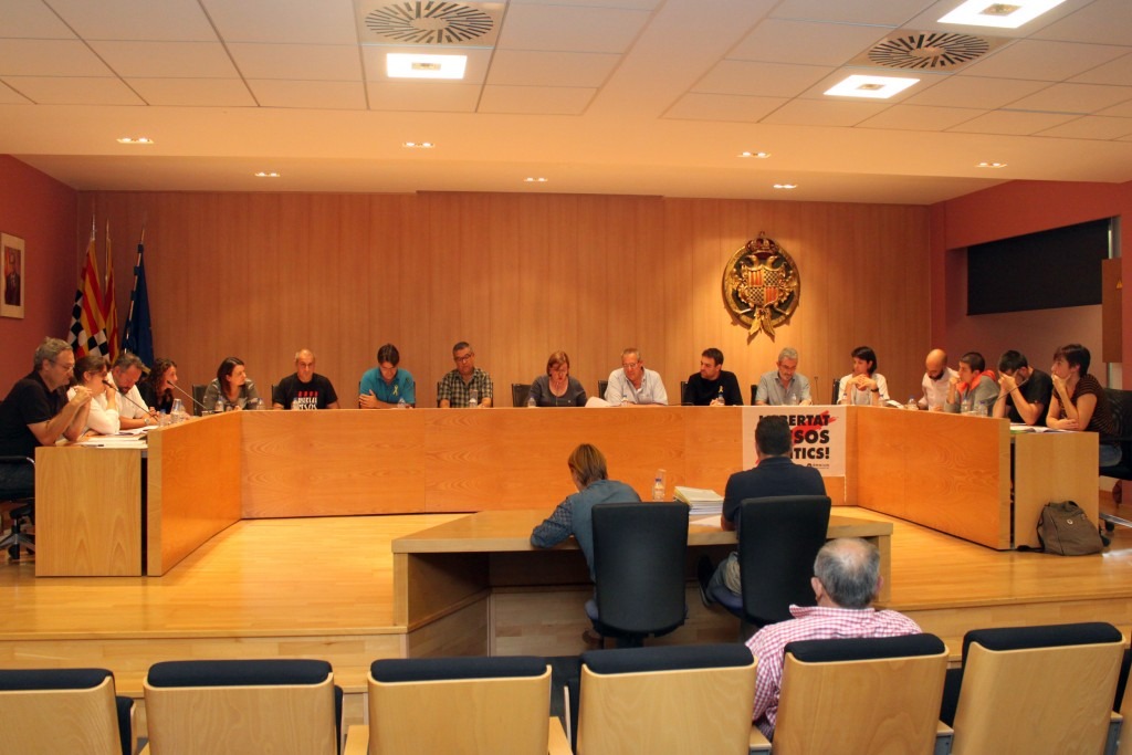Un moment del Ple celebrat el passat 27 de setembre