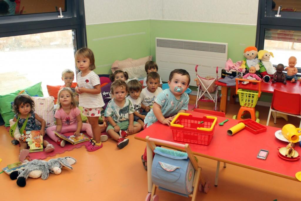 Una de les aules de la Llar d'Infants El Niu de Tàrrega, avui dimecres