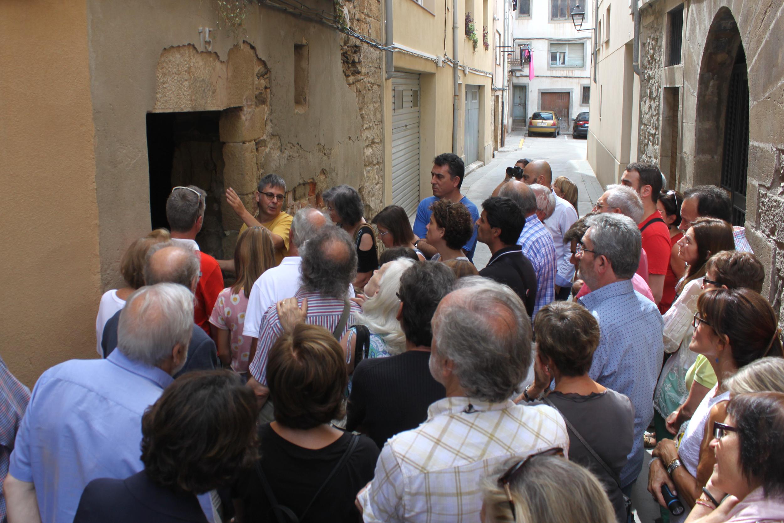 Tàrrega  posa en valor el patrimoni jueu de la vila medieval amb una visita guiada al Museu Comarcal de l'Urgell i a racons del call