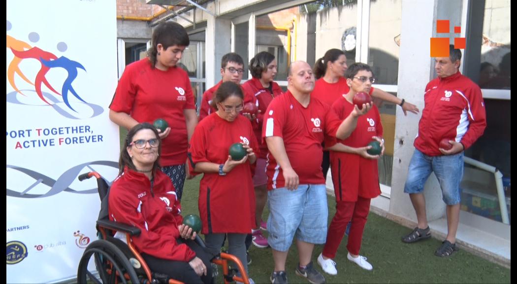 L'Associació Alba introdueix un nou esport dirigit a persones que habitualment no poden competir