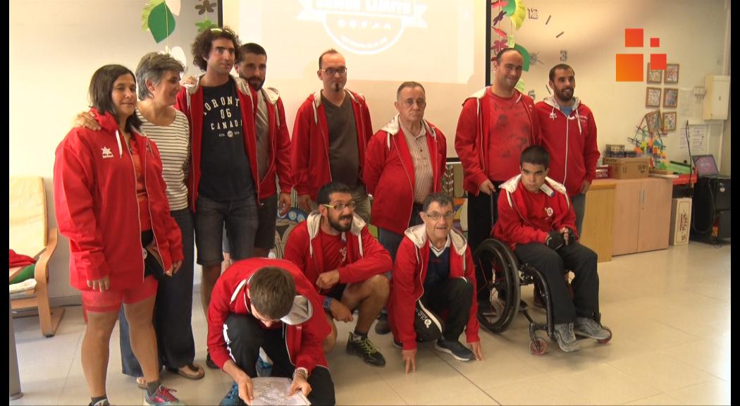 15 esportives de l'Associació Alba participaran en els Specials Olympics de la Seu d'Urgell i Andorra