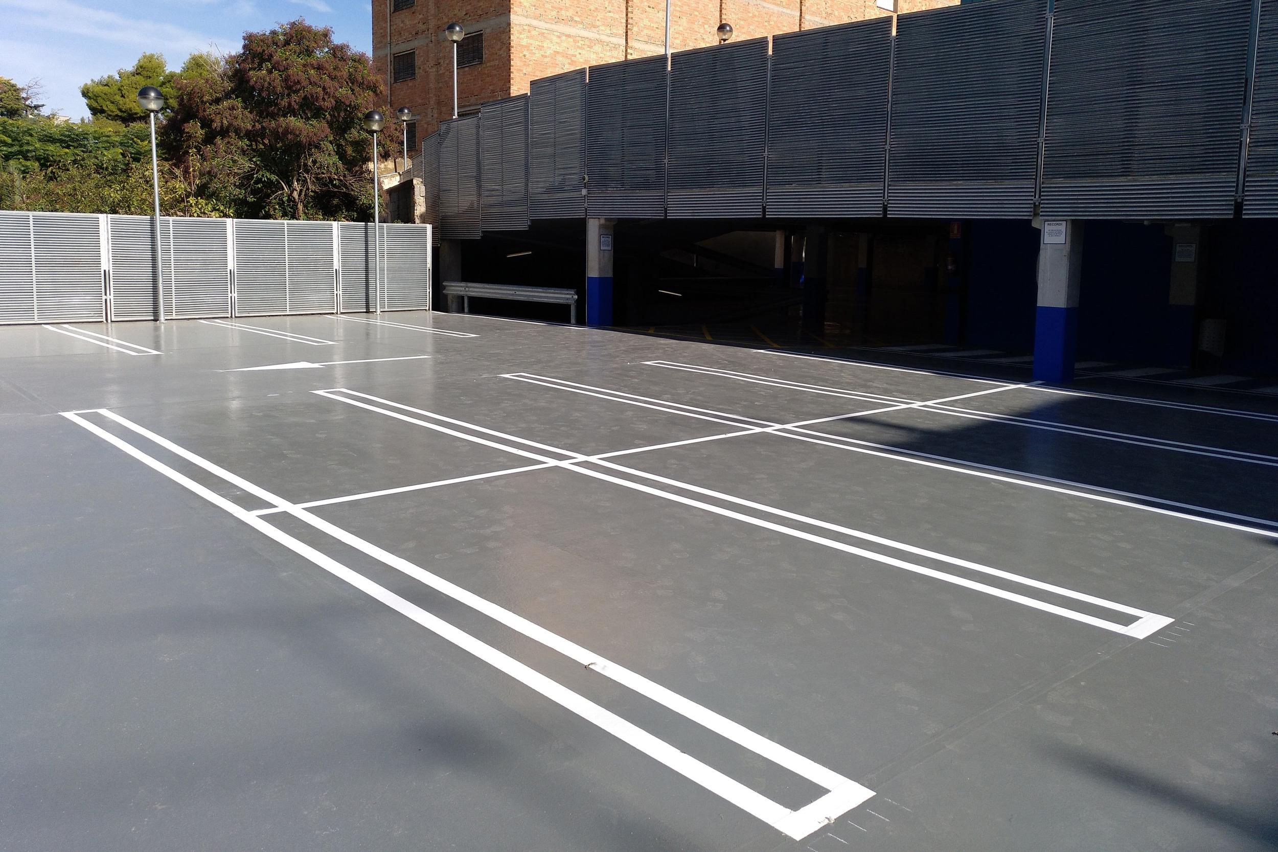 Tàrrega reobre demà dimecres 31 d'octubre el pàrquing municipal de l'avinguda de Catalunya, finalitzats els treballs de millora