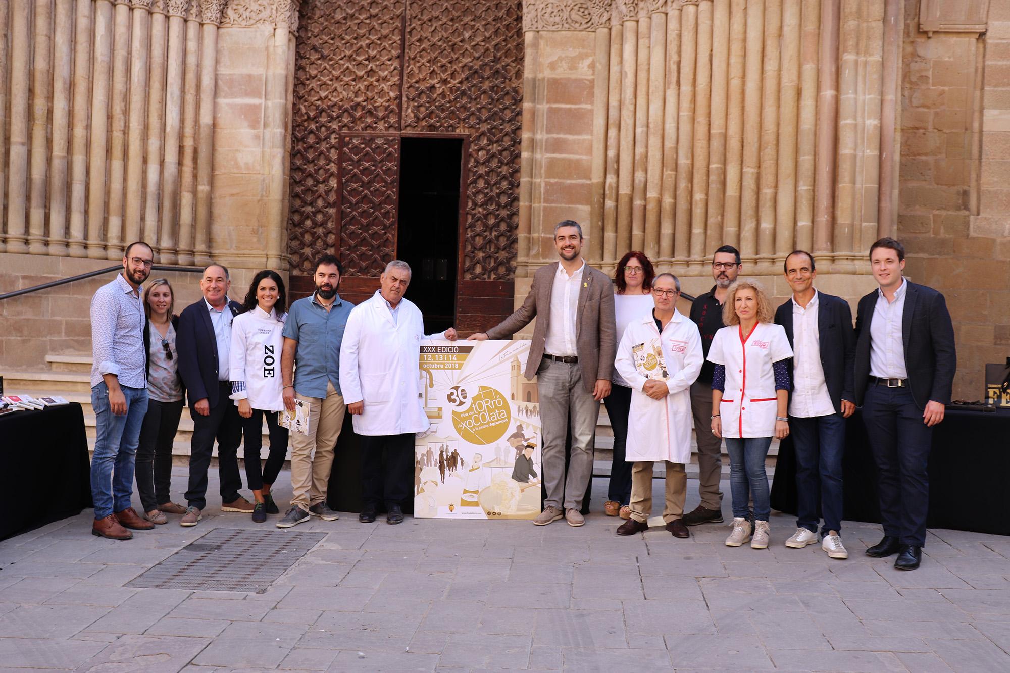 La Fira del Torró i la Xocolata a la Pedra d'Agramunt celebra 30 anys