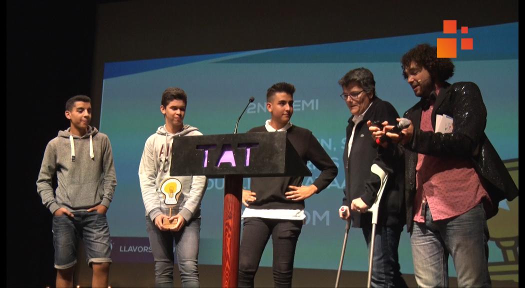 La Jornada Llavors de Futur inspira a 400 joves dels instituts de Tàrrega a emprendre  idees innovadores i amb impacte social