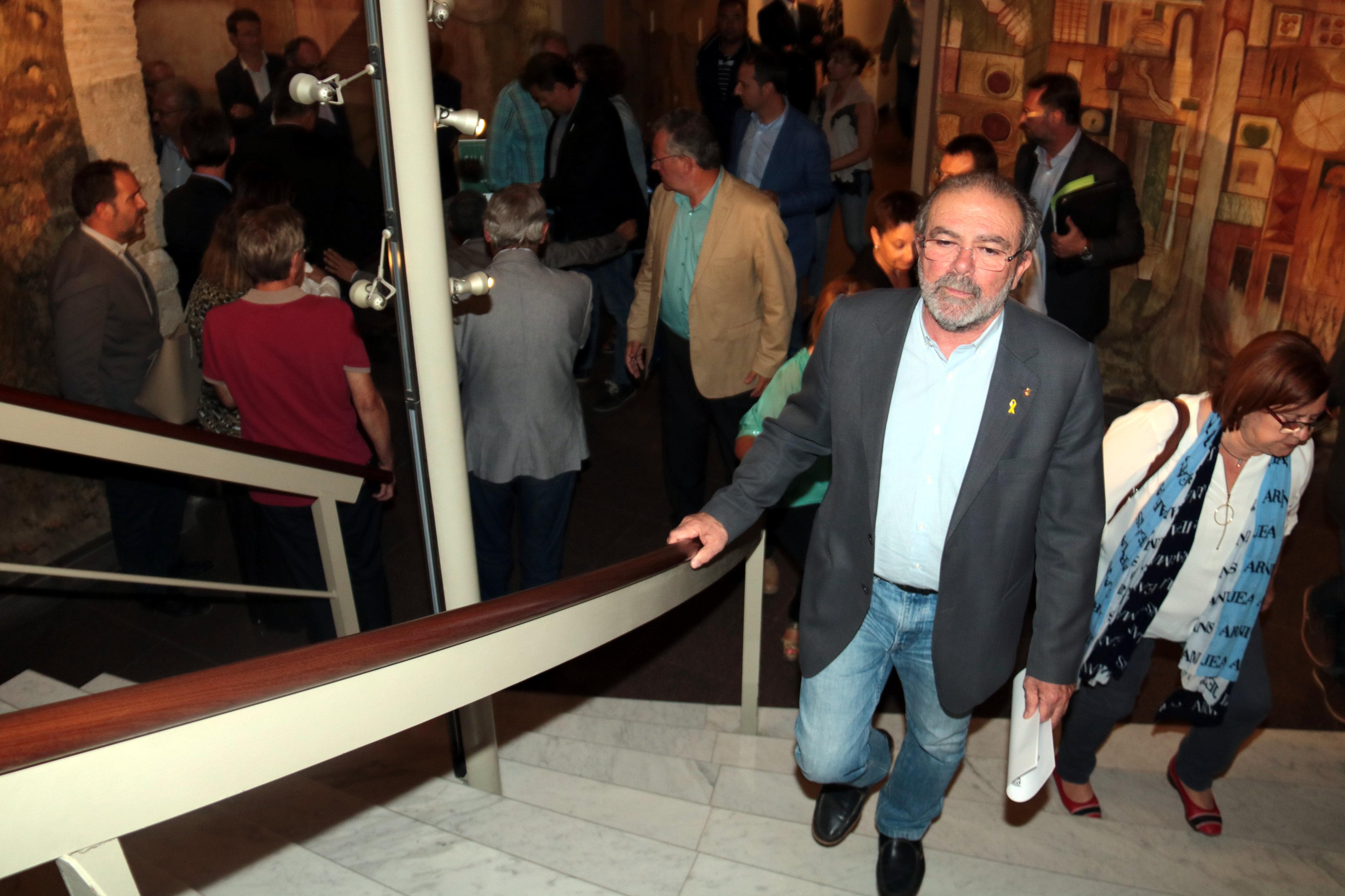Llibertat  pel president de la Diputació de Lleida a l'espera de declarar davant del jutge