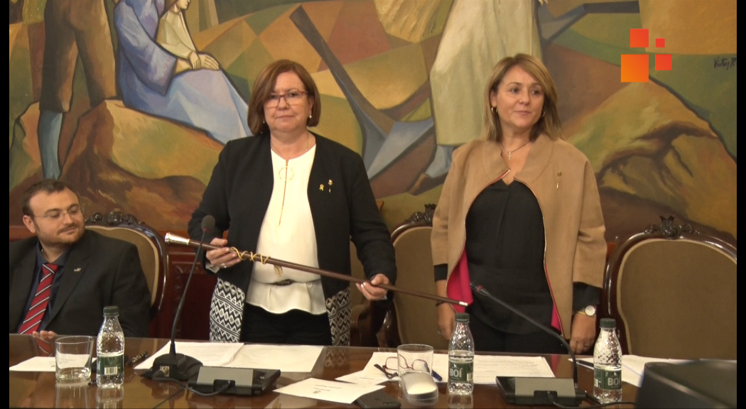 L'alcaldessa de Tàrrega, Rosa Perelló, primera dona que presideix la Diputació de Lleida