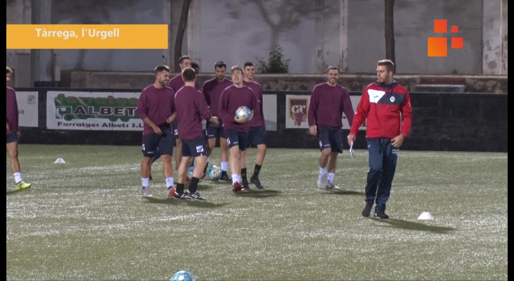 La UE Tàrrega buscarà la primera victòria de la temporada contra el Lleida Esportiu