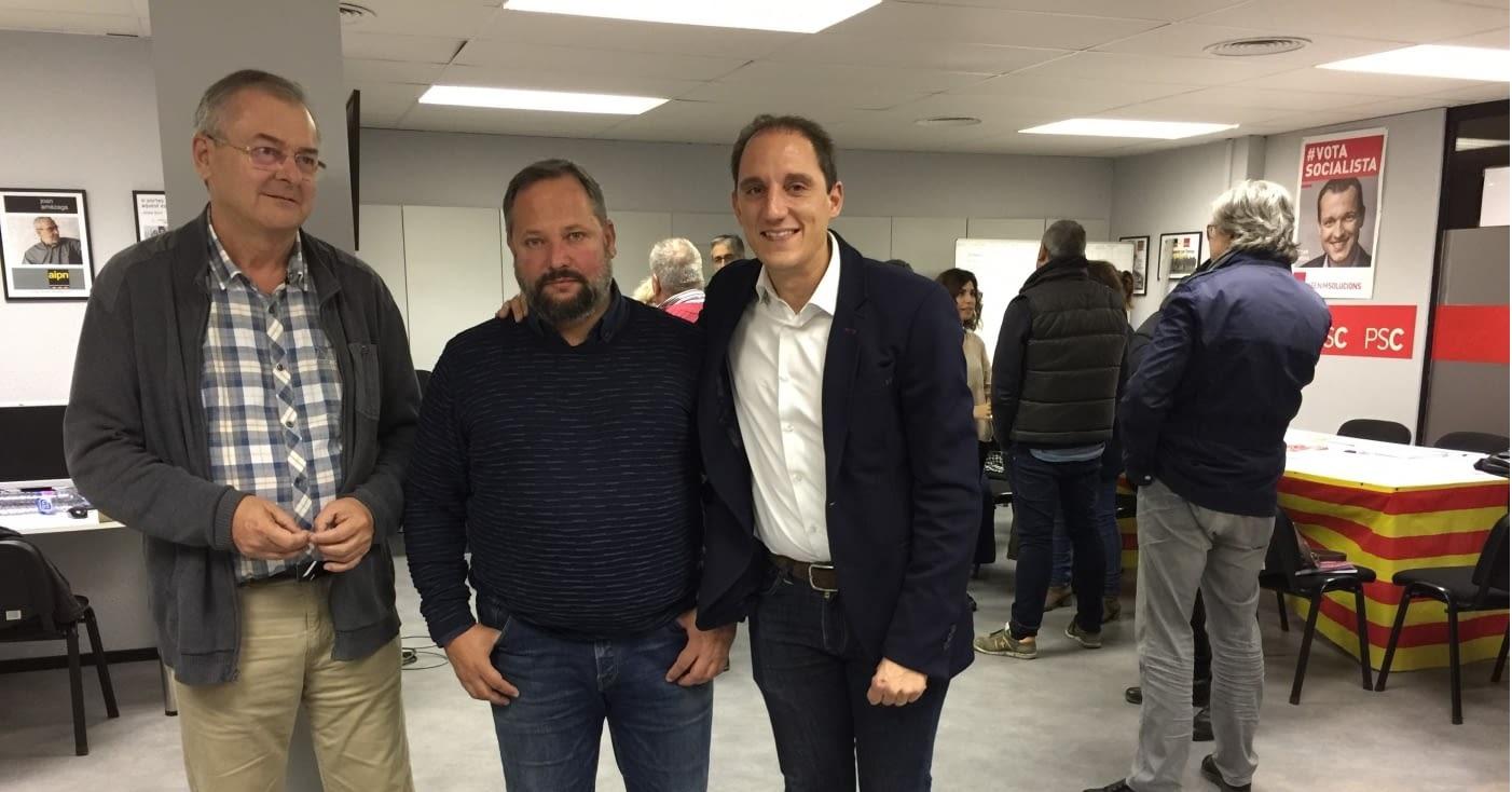 Silveri Caro repetirà com a candidat del PSC a les municipals del 2019 a Tàrrega