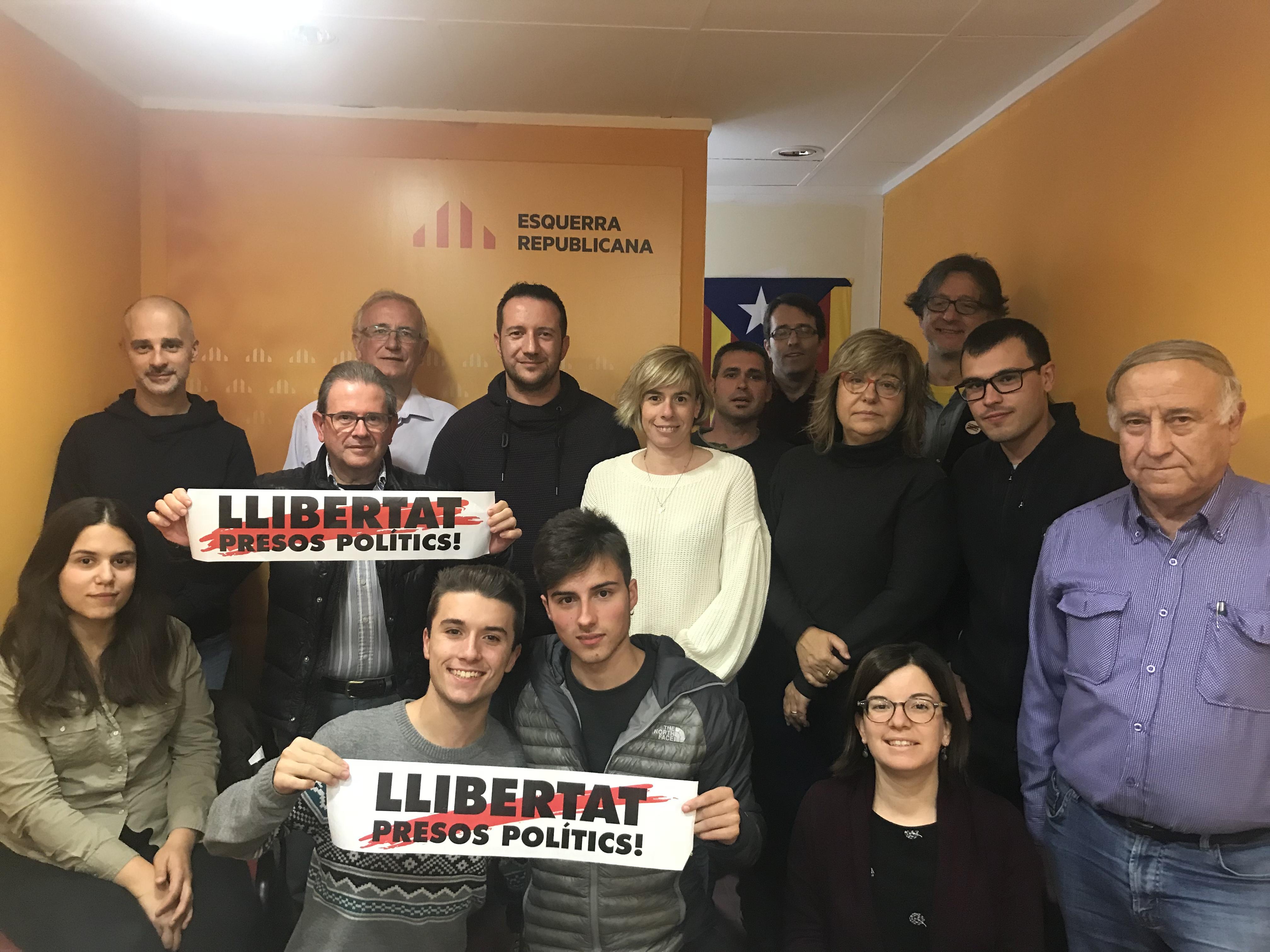 Òscar Amenós cap de llista d'ERC a les municipals a Tàrrega