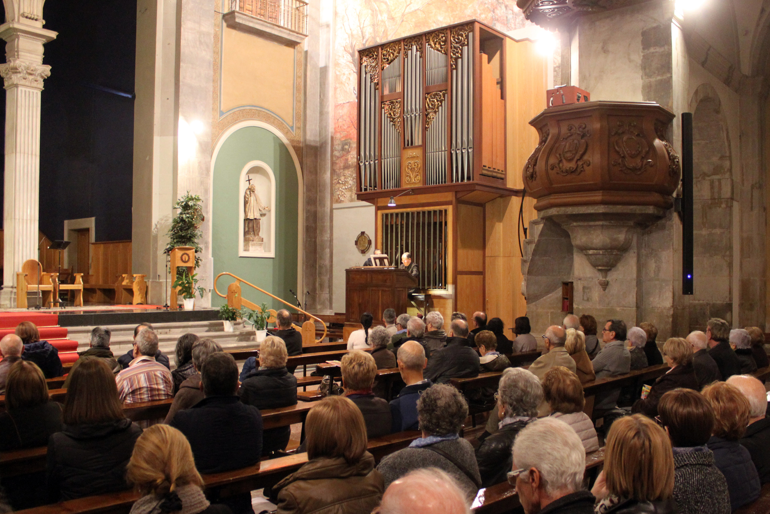 Tàrrega acull amb èxit un dels concerts del 20è Festival Orgues de Ponent i del Pirineu