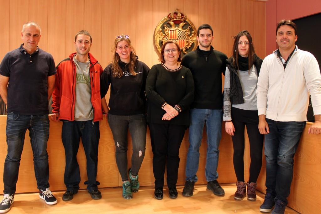 Joves contractats a Tàrrega en el marc del programa Garantia Juvenil
