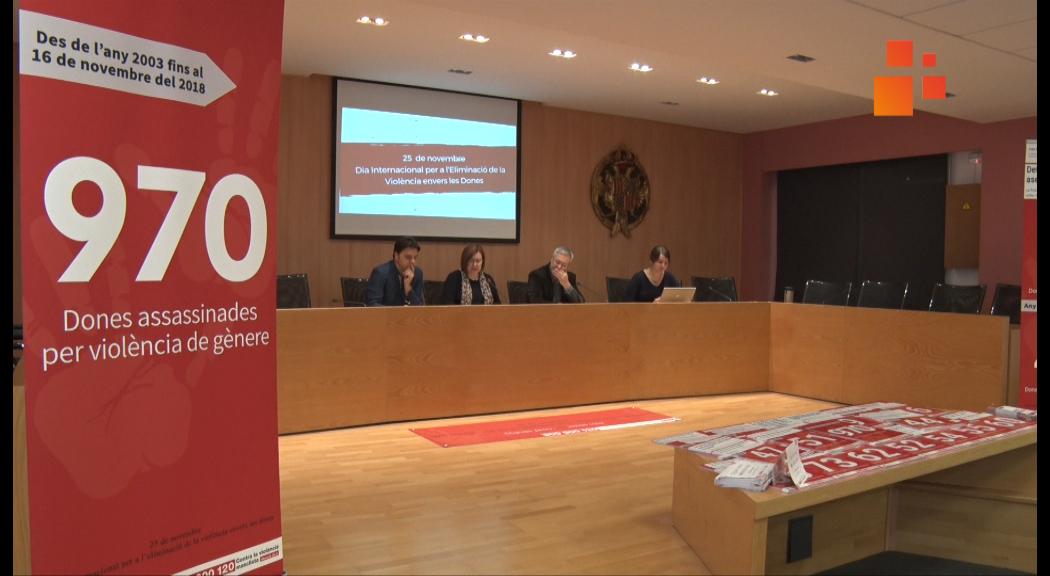 Tàrrega celebrarà el Dia Internacional per a l'Eliminació de la Violència envers les Dones que des del 2003 ha provocat la mort de 970 dones a l'Estat Espanyol.