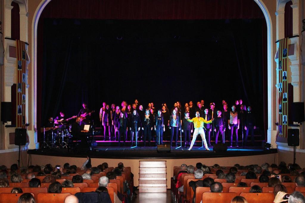 Concert Christmas.cat Orfeó Lleidatà i Pedro Pardo a Bellpuig