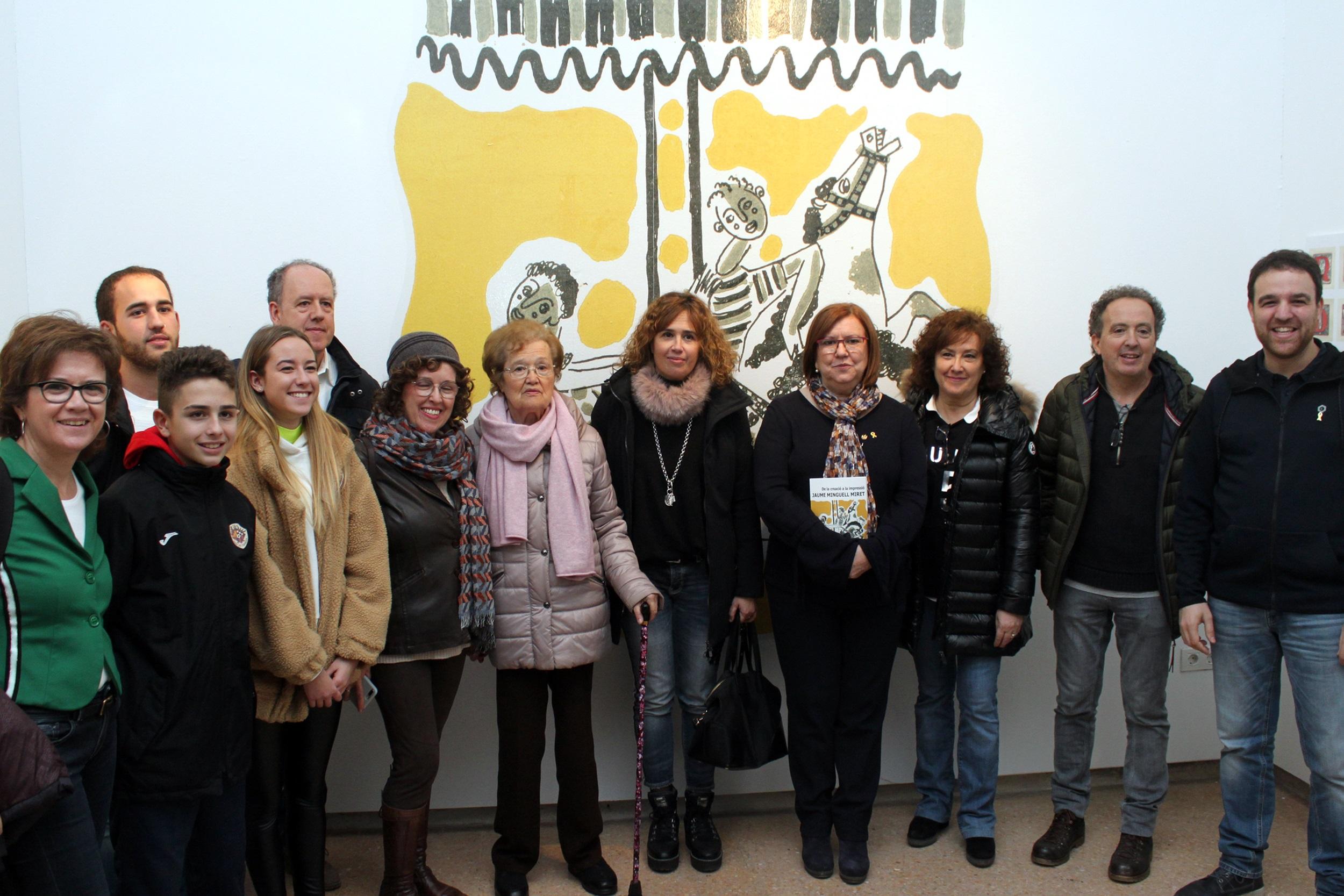 La Sala Marsà acull una exposició sobre el vessant com a il•lustrador de l'artista Jaume Minguell