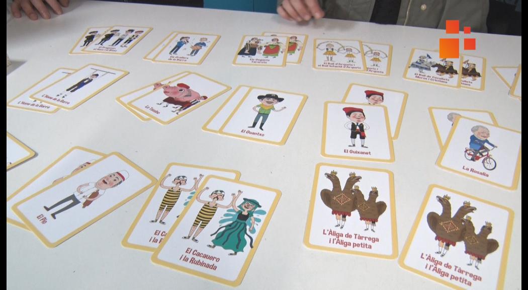 Guixanet crea un joc de memòria amb tots els elements, bestiari i personatges de l'entitat targarina
