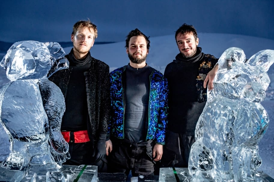 El targarí Jordi Claramunt crea una habitació de gel en el famós ICEHOTEL de Jukkasjärvi, a Suècia