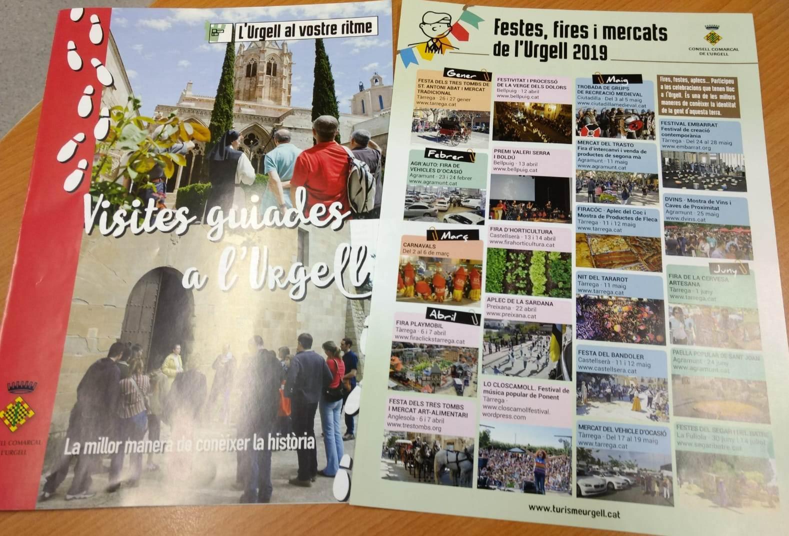 L'Urgell edita nou material turístic