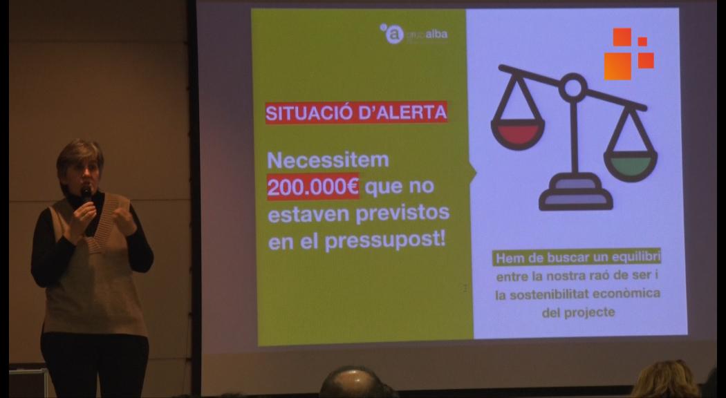 L'augment del salari mínim suposa un increment de 200.000 euros de despesa a l'Associació Alba