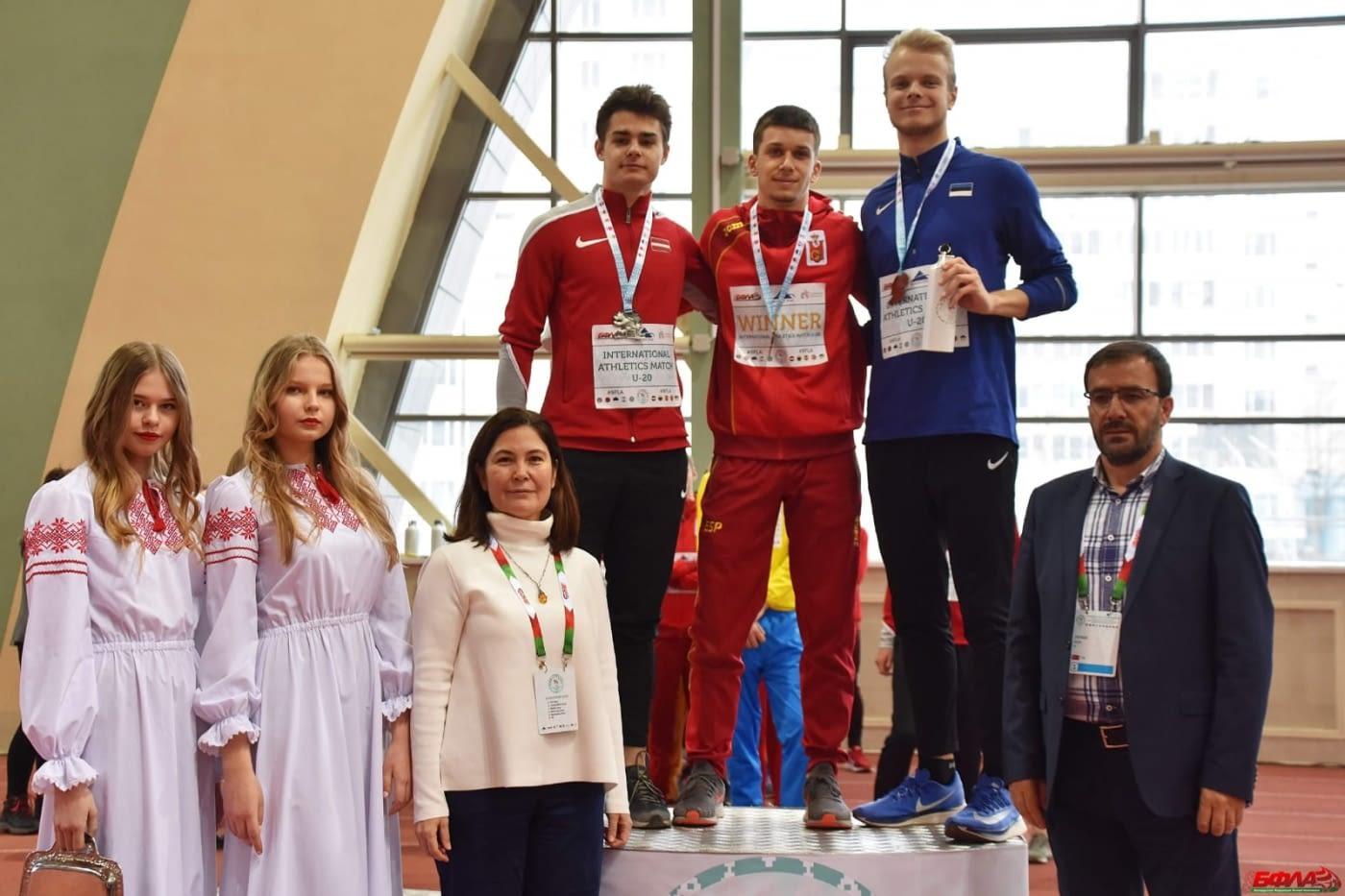 L'atleta targarí Arnau Monné estrena internacionalitat amb victòria al Minsk