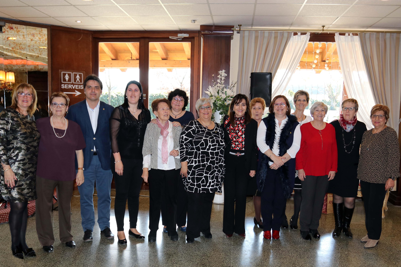 Les Dones Arrel de Tàrrega celebren Santa Àgueda