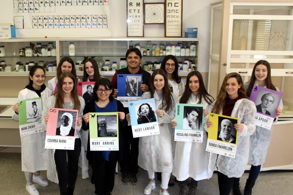 Divulgació de la campanya amb alumnes del Col·legi Sant Josep - Vedruna de Tàrrega