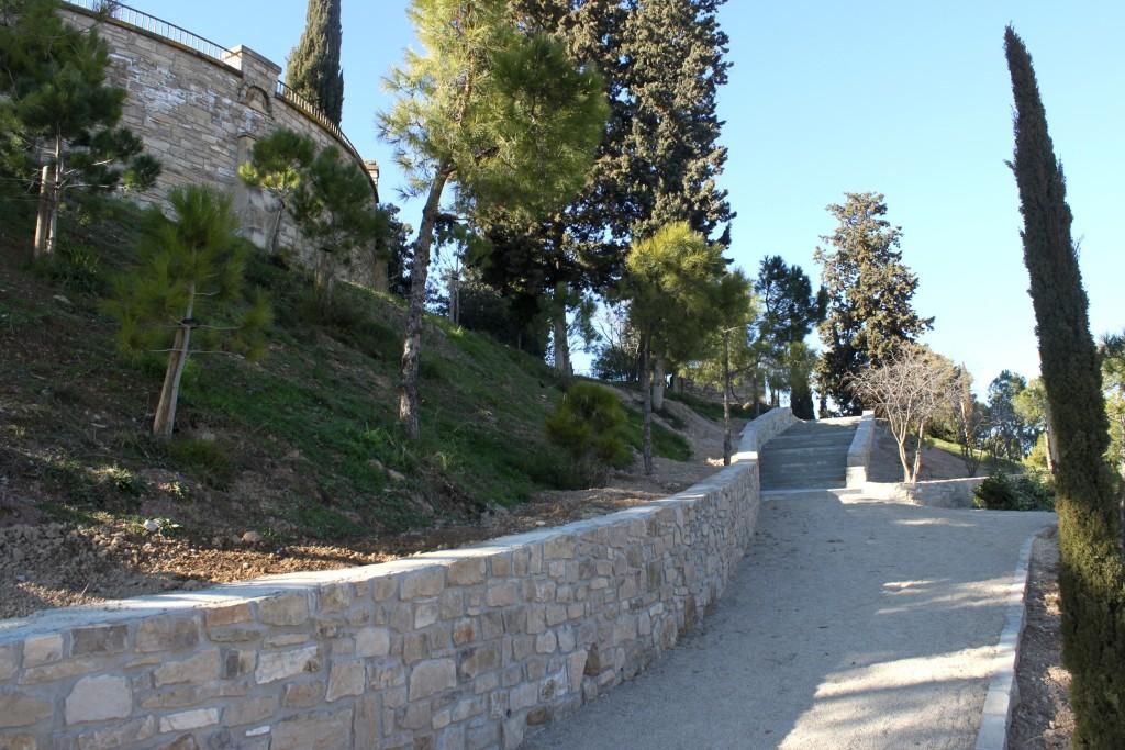 Obres de millora al passeig de Magí Manonelles, al Parc de Sant Eloi de Tàrrega