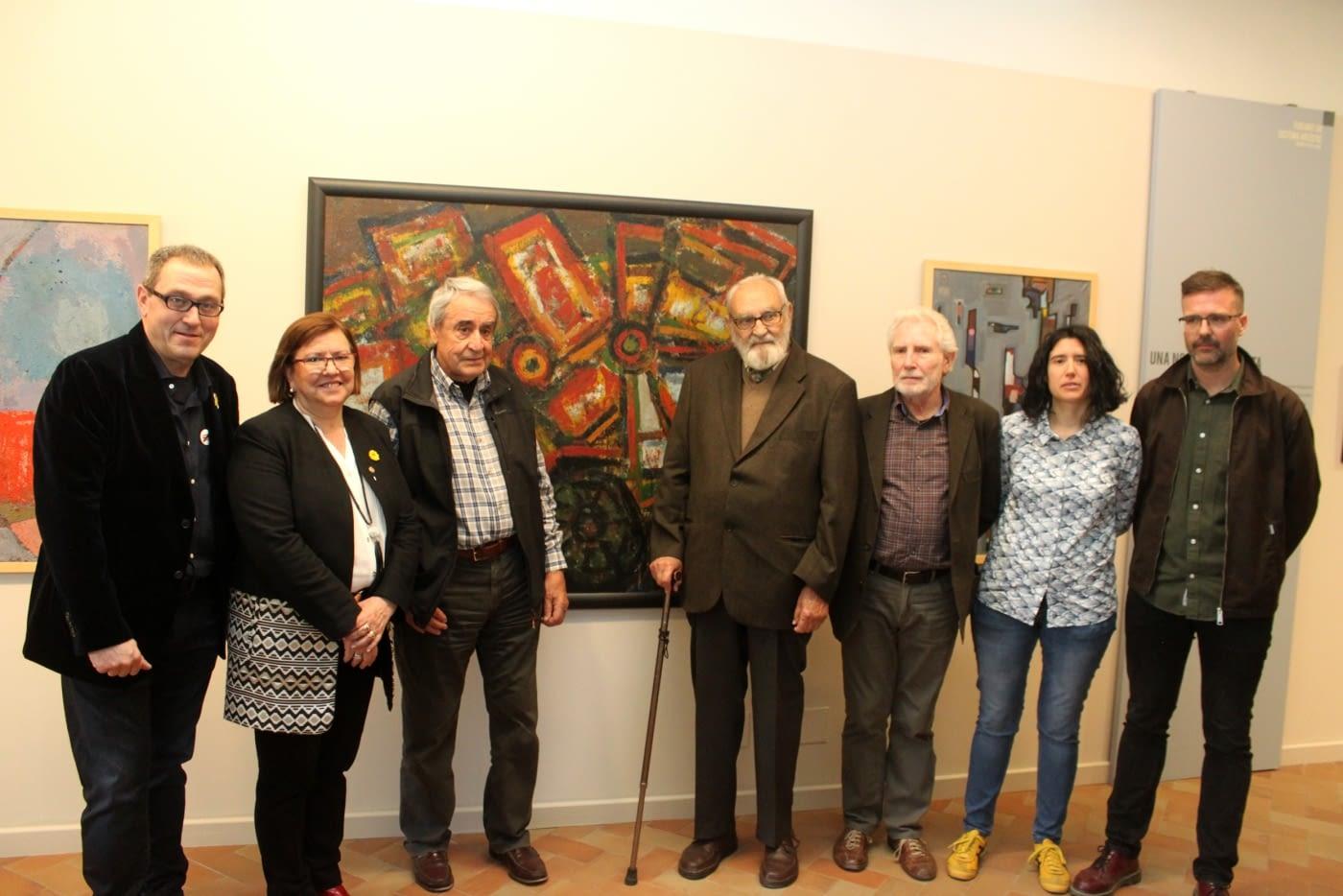 El Museu Comarcal  obre una sala permanent amb obres de 24 artistes destacats de la ciutat d'entre els anys 1875 i 1965