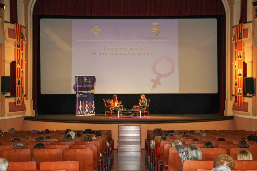 Bellpuig Commemoració del Dia Internacional de les dones a l'Urgell 2