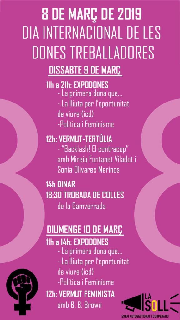 cartell 8M La Soll