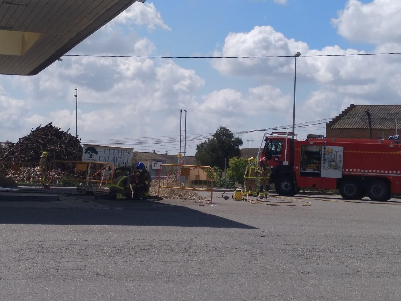 Ferit crític un treballador en una deflagració quan feia tasques de manteniment en una benzinera tancada a Fonolleres