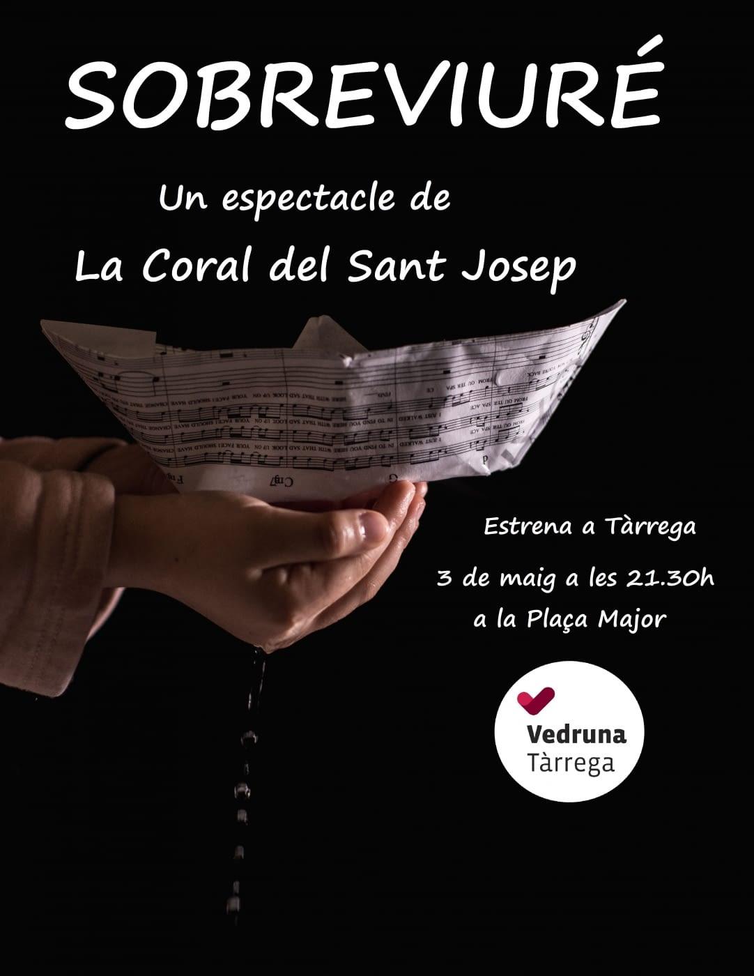 Les corals de l'escola Sant Josep de Tàrrega estrenaran l'espectacle Sobreviuré