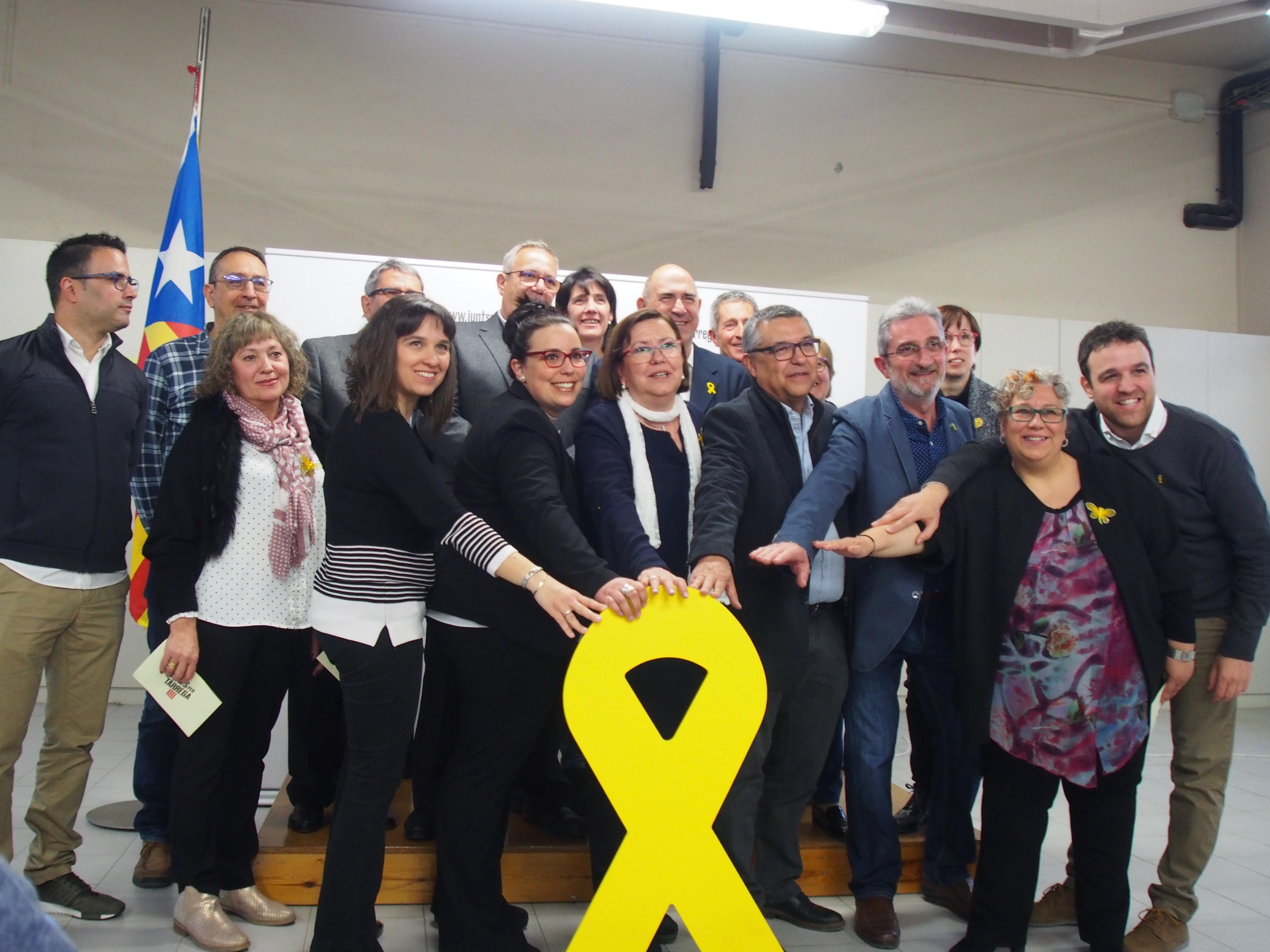 Junts per Tàrrega presenta els membres de la seva candidatura  inclusiva i transversal