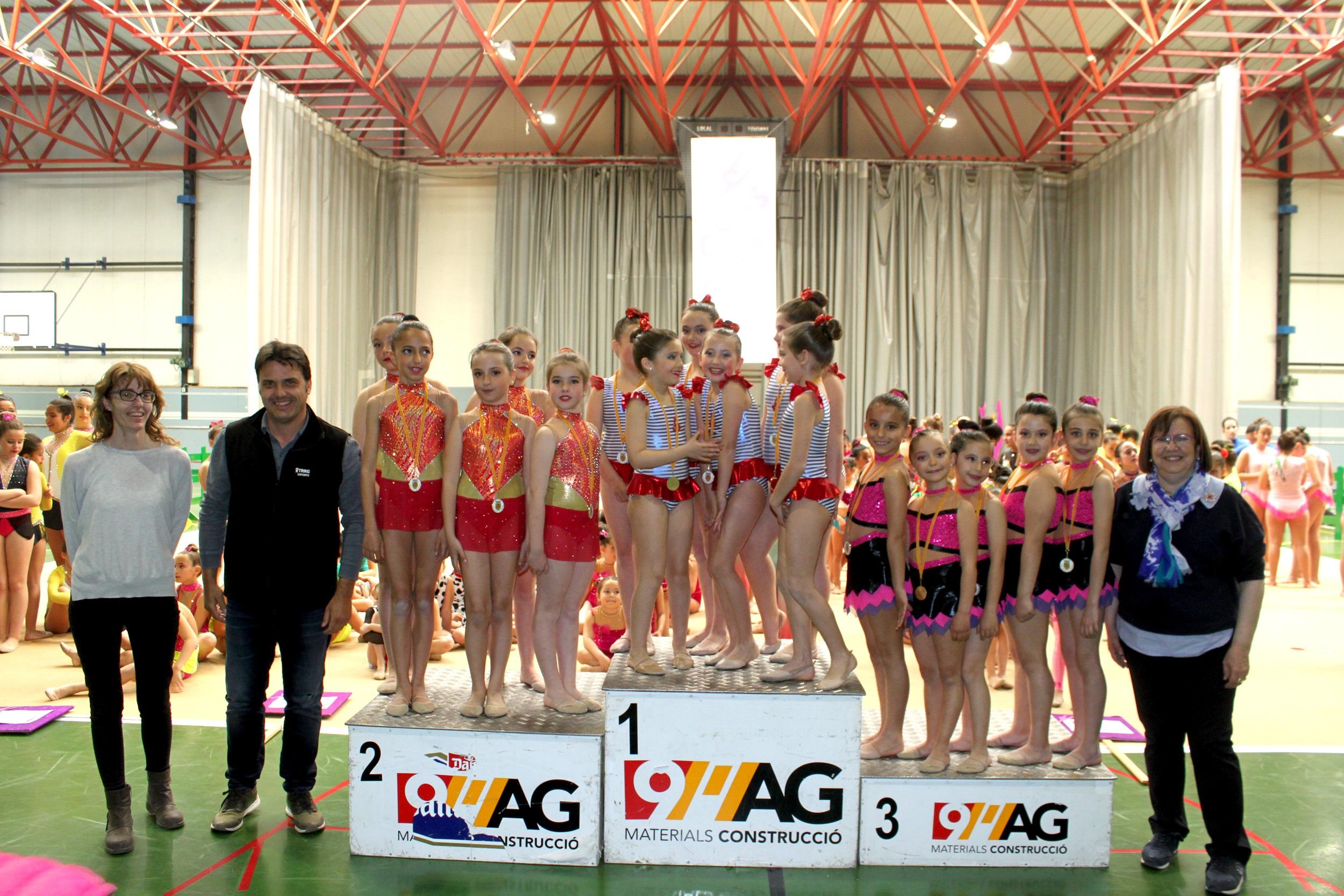 Acte de lliurament de premis del Trofeu Ciutat de Tàrrega de gimnàstica rítmica