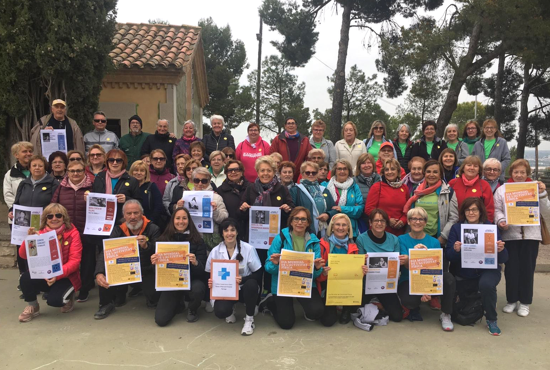 Dia Mundial de l'Activitat Física divulgant els beneficis de l'esport i l'alimentació saludable