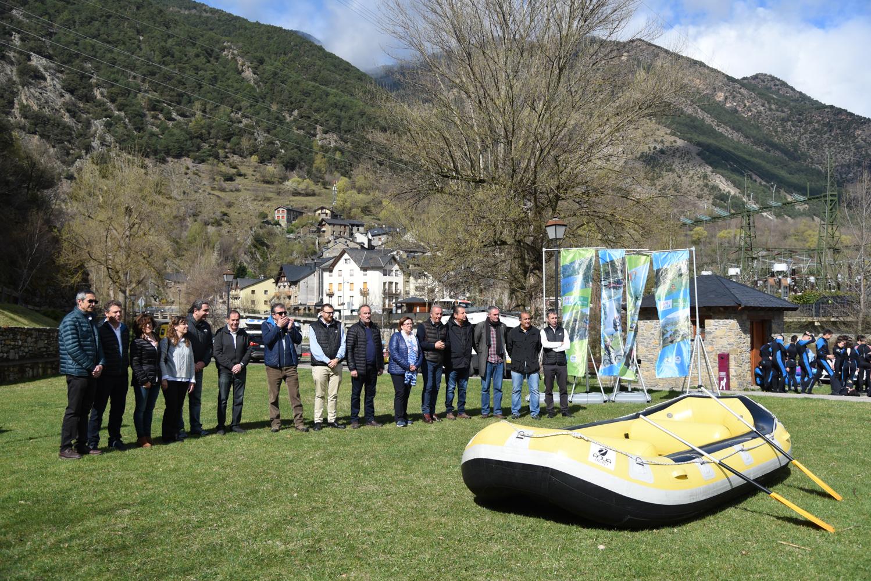 El sector del turisme actiu i d'esports d'aventura de Lleida preveu que enguany es contractin més 750.000 serveis