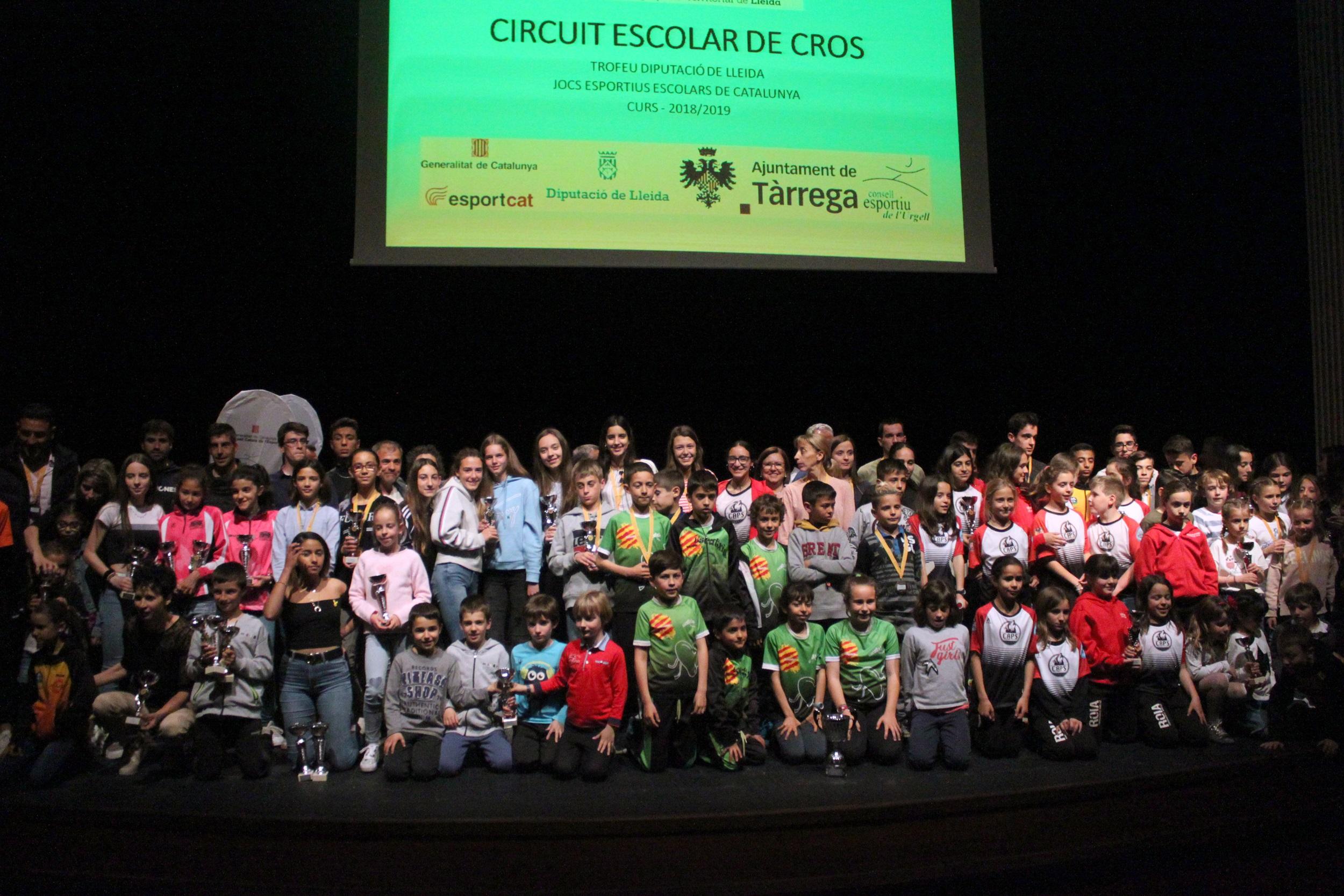 El Teatre Ateneu de Tàrrega acull la Festa dels Valors dels Consells Esportius de Lleida