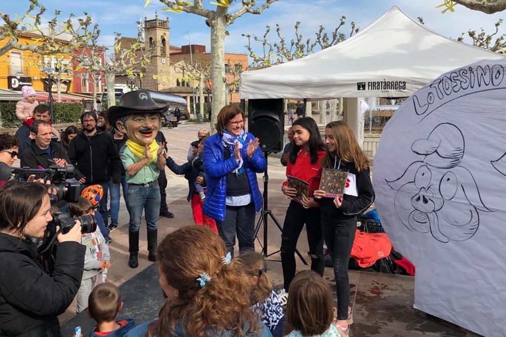 Molta participació de públic a les activitats de Sant Jordi de Tàrrega