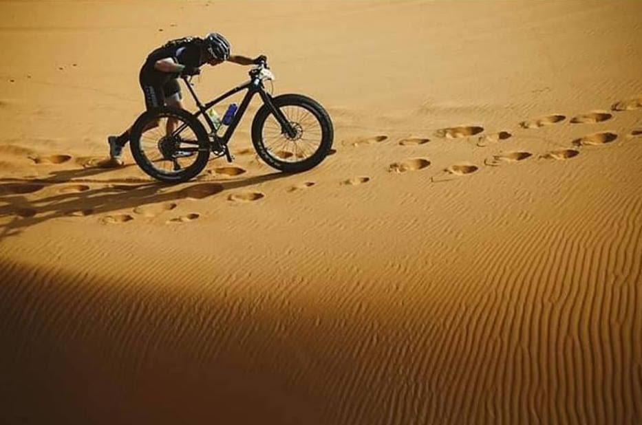 El ciclista targarí Josep Termens s'ha proclamat campió en la categoria FatBike de la Titan Desert 2019