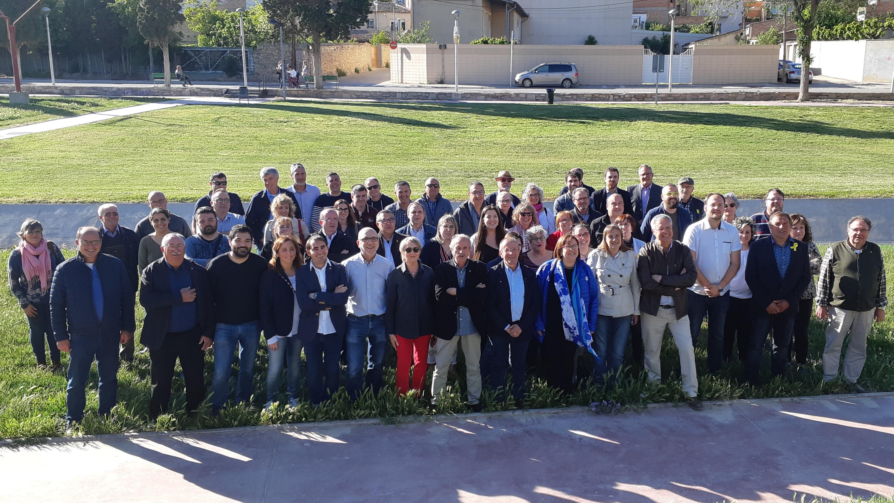 Es presenten les 18 candidatures a les municipals  de Junts per Catalunya a l'Urgell