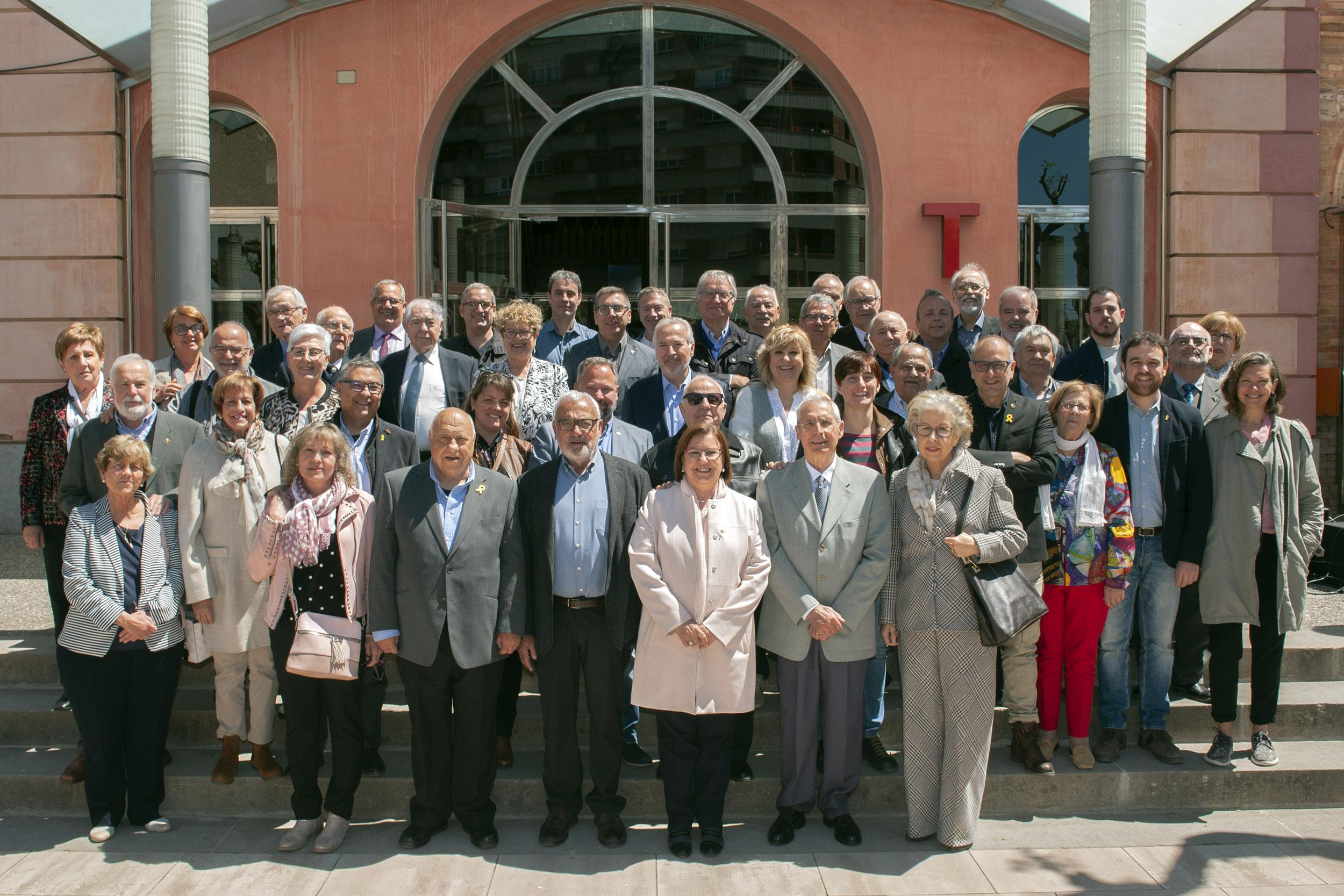 Tàrrega celebra un acte de memòria històrica en homenatge als 40 anys d'ajuntaments democràtics