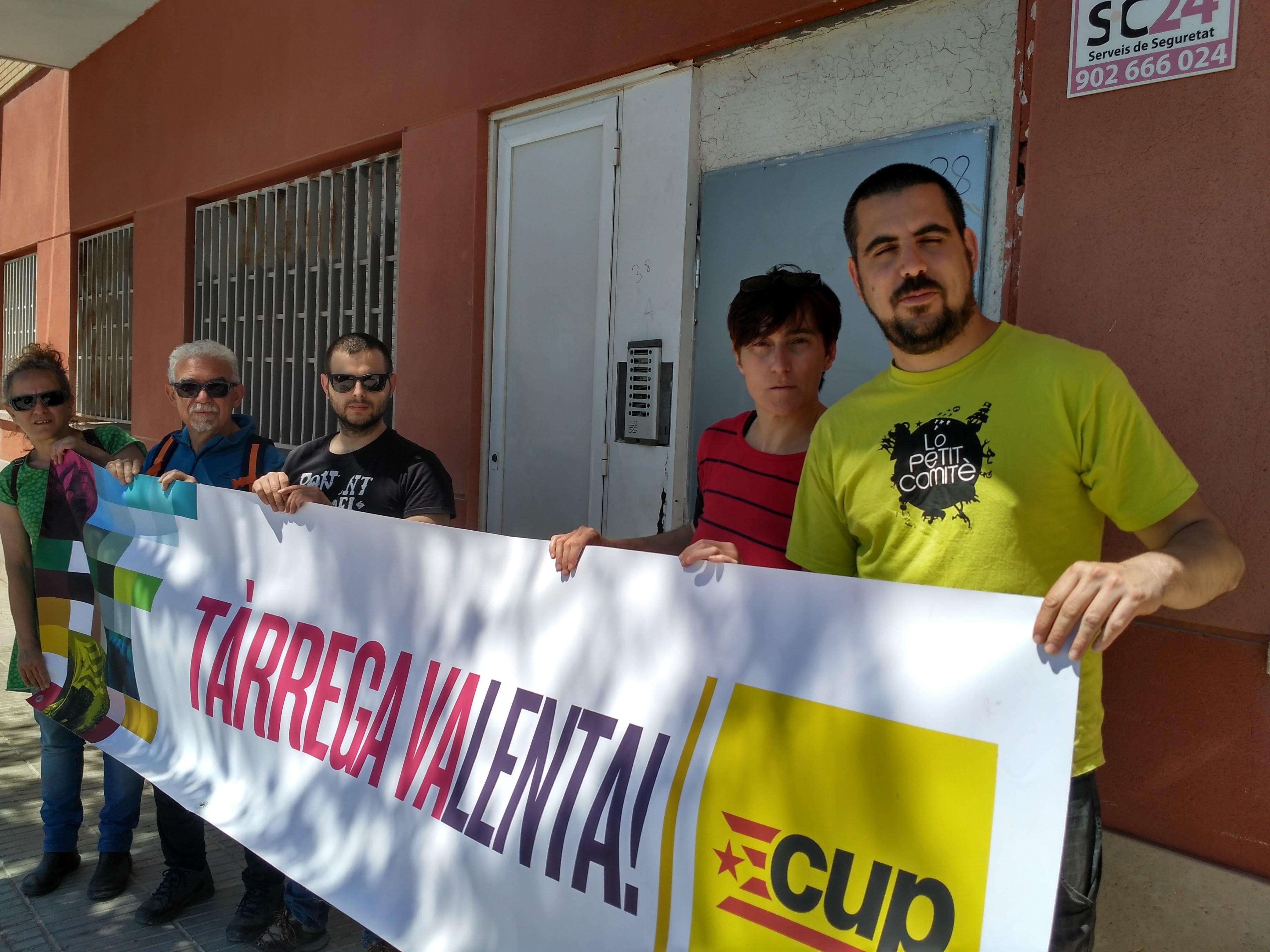 La CUP defensa el dret a un habitatge digne amb propostes municipals